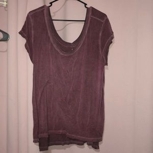 Size XL maroon soft and sexy tee